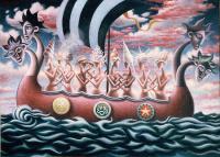 Картина «Между мирами» Стивена МакЛарена