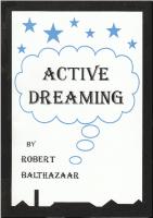 Книга «Active Dreaming» Роберта Балтазаара