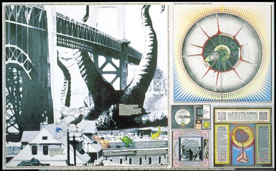 Картина «It Came from Beneath Space», Paul Laffoley, 1993